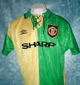 Old Manchester United kit