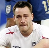 John Terry crying, again