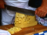 Cheese cutting